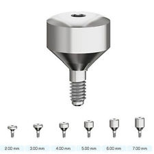 10 X Extra Wide 6 3 Mm Healing Caps Dental Implant